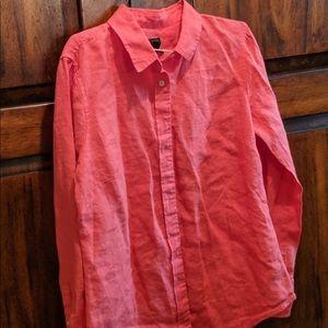 Tops - Baird McNutt Women's Button Down Long Sleeve 6